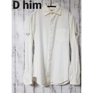 ダブルスタンダードクロージング(DOUBLE STANDARD CLOTHING)のD him ダブルスタンダードクロージングヒム 長袖シャツ ホワイト(シャツ)