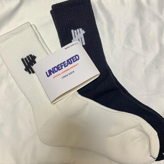 UNDEFEATED - undefeated 靴下 ソックス アンディフィーテッド 25〜29cm 2足