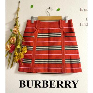バーバリー(BURBERRY)の☆Burberry☆バーバリーロンドン スカート(ミニスカート)