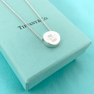 ティファニー(Tiffany & Co.)のTiffany & Co. 1837 サークル カーブ ネックレス シルバー(ネックレス)