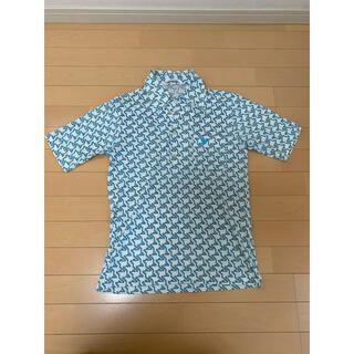 ダンロップ(DUNLOP)のポロシャツ 古着 柄シャツ オシャレ 70年代 80年代 ロック(ポロシャツ)