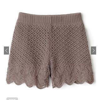 GRL - GRL 透かし編みショートパンツ