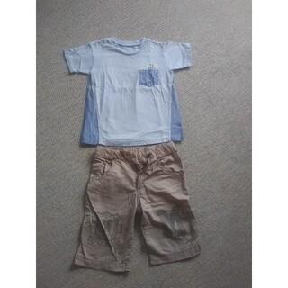フェリシモ(FELISSIMO)の男の子コーディネートセット 120(Tシャツ/カットソー)