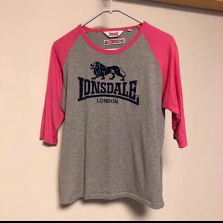 LONSDALE - 【ロンズデール】 LONSDALE Tシャツ レアな五分丈
