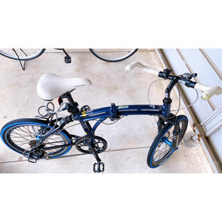 ドッペルギャンガー(DOPPELGANGER)の折りたたみ自転車 ミニベロ ドッペルギャンガー 美品(自転車本体)