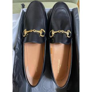 イエナスローブ(IENA SLOBE)の IENASLOBEマリオントゥッフェ ビット付きローファー BK 38  (ローファー/革靴)