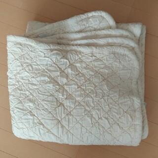 縮んだ 羊毛 敷きパッド ベッドパッド 日本製 ジュニア用?(その他)