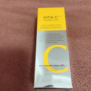ミシャ(MISSHA)の新品 ミシャ VitaC ファーミングアンプル美容液(美容液)