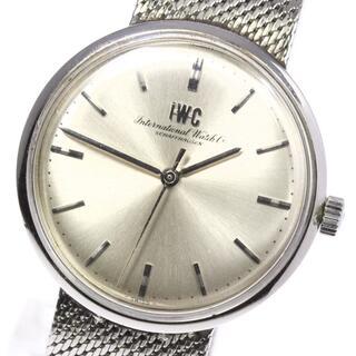 インターナショナルウォッチカンパニー(IWC)のIWC  アンティーク cal.403  手巻き メンズ 【中古】(腕時計(アナログ))