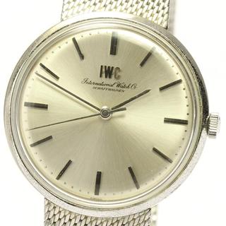 インターナショナルウォッチカンパニー(IWC)のIWC  アンティーク cal.402  手巻き メンズ 【中古】(腕時計(アナログ))