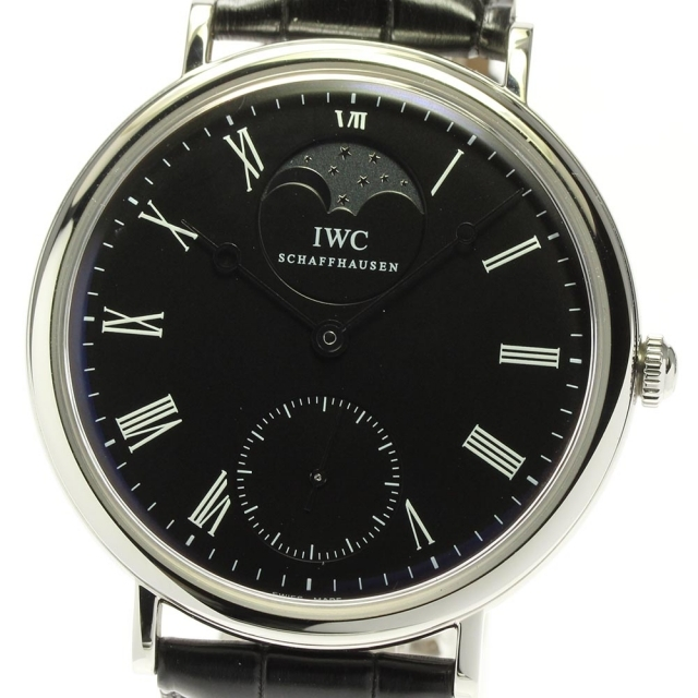 IWC(インターナショナルウォッチカンパニー)の☆美品 IWC ヴィンテージ ポートフィノ IW544801 メンズ 【中古】 メンズの時計(腕時計(アナログ))の商品写真