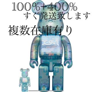 メディコムトイ(MEDICOM TOY)のBearbrick X-girl 2021 100% & 400%(その他)