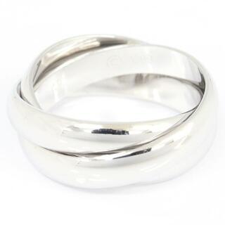 カルティエ(Cartier)の カルティエ リング トリニティ K18WG サイズ49(リング(指輪))
