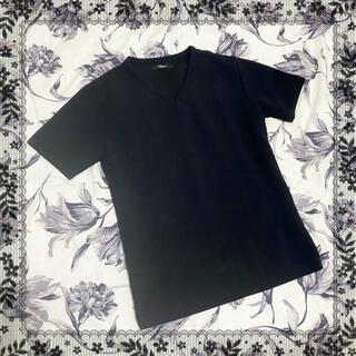 モルガンオム(MORGAN HOMME)の【MORGAN HOMME】Vネック シンプル Tシャツ(Tシャツ/カットソー(半袖/袖なし))