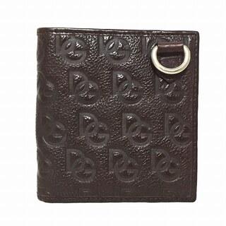 ドルチェアンドガッバーナ(DOLCE&GABBANA)のドルチェアンドガッバーナ 2つ折り財布 -(財布)
