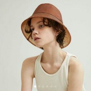 イエナ(IENA)のla maison de lyllis メゾンドリリス grasspothat (麦わら帽子/ストローハット)