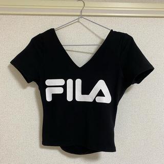 リゼクシー(RESEXXY)のFILA×RESEXXY コラボTシャツ(Tシャツ(半袖/袖なし))