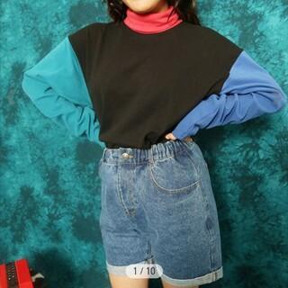 ペコクラブ(PECO CLUB)の試着のみ♡タグ付き♡ペコクラブ デニムイージーハーフパンツ(ショートパンツ)