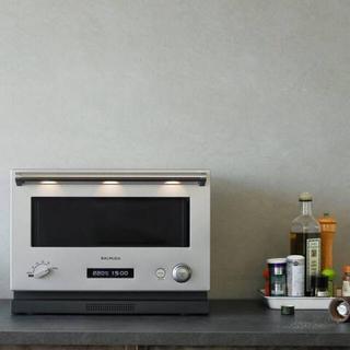 バルミューダ(BALMUDA)のバルミューダ オーブンレンジ 電子レンジ ステンレス シルバー(調理道具/製菓道具)