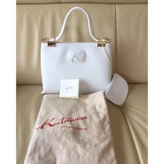 キタムラ(Kitamura)の☆極美品☆Kitamura motomachi ポーチ付ハンドバッグ 現行品(ハンドバッグ)