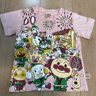 アンパンマン(アンパンマン)の80cm アンパンマンキッズコレクション お祭り 半袖Tシャツ☆(Tシャツ)