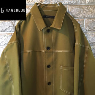 レイジブルー(RAGEBLUE)の【美品】RAGEBLUE レイジブルー ジャケット アウター Mサイズ(その他)