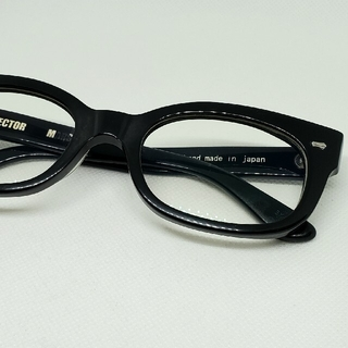 EFFECTOR - エフェクターメガネ EFFECTOR  MARS BK マーズ 伊達眼鏡