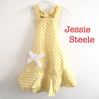 ジェシースティール(Jessie Steele)のJessie Steele ドット柄エプロン(収納/キッチン雑貨)