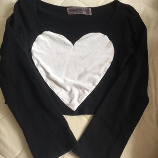 ハニーミーハニー(Honey mi Honey)のハートTシャツ(Tシャツ(長袖/七分))