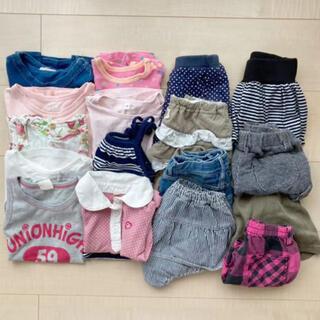 ベビーギャップ(babyGAP)の女の子服まとめ売り 80センチ 17点(その他)
