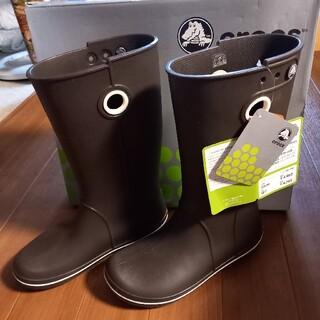 クロックス(crocs)の【クロックス】新品 長靴 レインブーツ 23cm☆(レインブーツ/長靴)