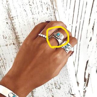 アリシアスタン(ALEXIA STAM)のアリシアスタン リング ターコイズ 指輪 レア(リング(指輪))