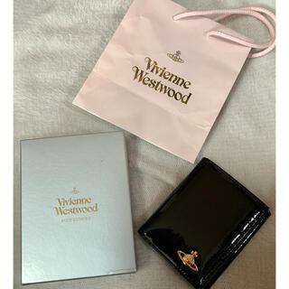Vivienne Westwood - Vivienne Westwood  ヴィヴィアン 黒 二つ折り財布 小銭入れ