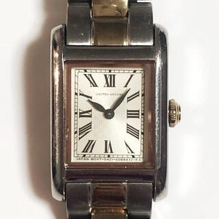 ユナイテッドアローズ(UNITED ARROWS)のアローズ 腕時計 - 5421-S058252 ベージュ(腕時計)