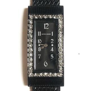 ユナイテッドアローズ(UNITED ARROWS)のアローズ 腕時計 - T320-S051819 黒(腕時計)