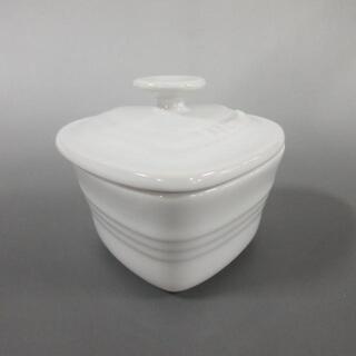 ルクルーゼ(LE CREUSET)のルクルーゼ 食器新品同様  - 白 陶器(その他)