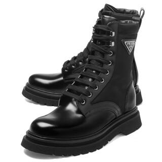 プラダ(PRADA)の定価11万5000 新品未使用品 PRADA コンバットブーツ(ブーツ)