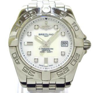ブライトリング 腕時計美品  A71356 白