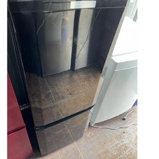 ミツビシデンキ(三菱電機)の三菱電機 2ドア冷蔵庫 146L 💍2019年製💍BLACK(冷蔵庫)