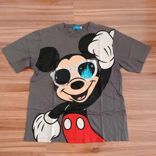 ミッキーマウス(ミッキーマウス)のディズニーリゾート サングラスミッキー  tシャツ Lサイズ(Tシャツ/カットソー(半袖/袖なし))