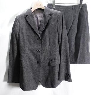 コムサデモード(COMME CA DU MODE)のCOMME CA DU MODE スーツ上下 レディース グレー(スーツ)