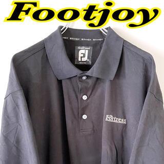 フットジョイ(FootJoy)のFJ footjoy 古着 90s USA 半袖シャツ ポロシャツ XL(ポロシャツ)