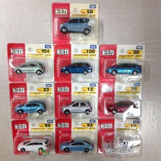 タカラトミー(Takara Tomy)の新品未使用 トミカ ミニカー 10点 セット 02SI0706332(ミニカー)