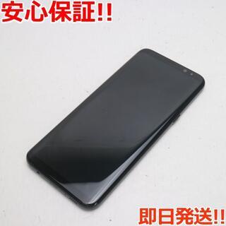 ギャラクシー(Galaxy)の良品中古 SC-03J Galaxy S8+ ブラック 白ロム(スマートフォン本体)