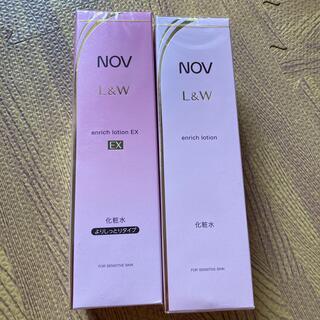 ノブ(NOV)のjin様専用!ノブL&W エンリッチローション2個セット(化粧水/ローション)