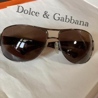 ドルチェアンドガッバーナ(DOLCE&GABBANA)のレア DOLCE&GABBANA アビエーターサングラス☆(サングラス/メガネ)
