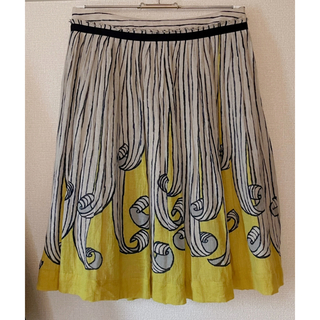 ミナペルホネン(mina perhonen)のmina perhonen フレアスカート ¨ swing ¨ (ひざ丈スカート)