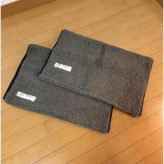 フェリシモ(FELISSIMO)の湯たんぽ枕カバー ブラウン1枚(シーツ/カバー)