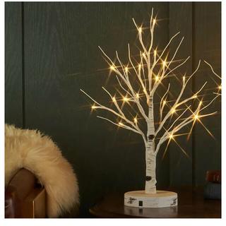 白樺ツリー  LEDライト 北欧 韓国 インテリア ナチュラル(テーブルスタンド)