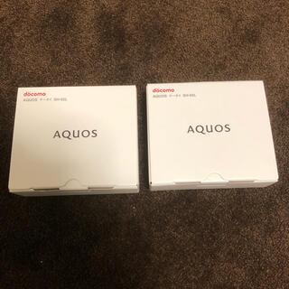 アクオス(AQUOS)のAQUOSケータイSH 02L ブラック(携帯電話本体)